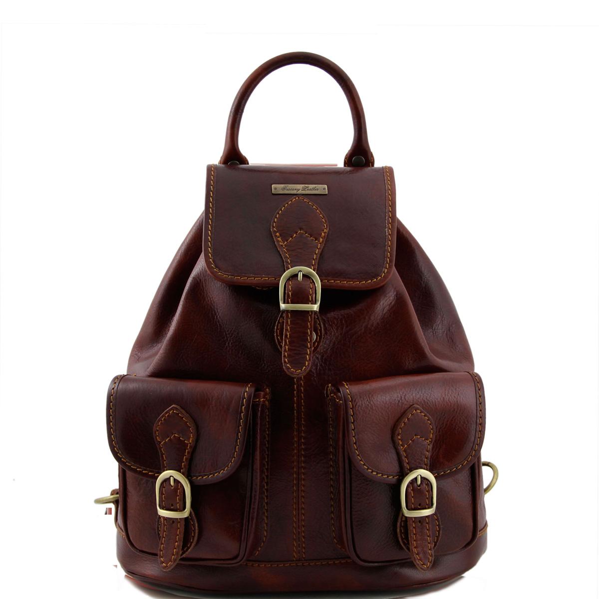 Tuscany LeatherRyggsäck i skinn Tokyo TL9035 ITALIENSKA