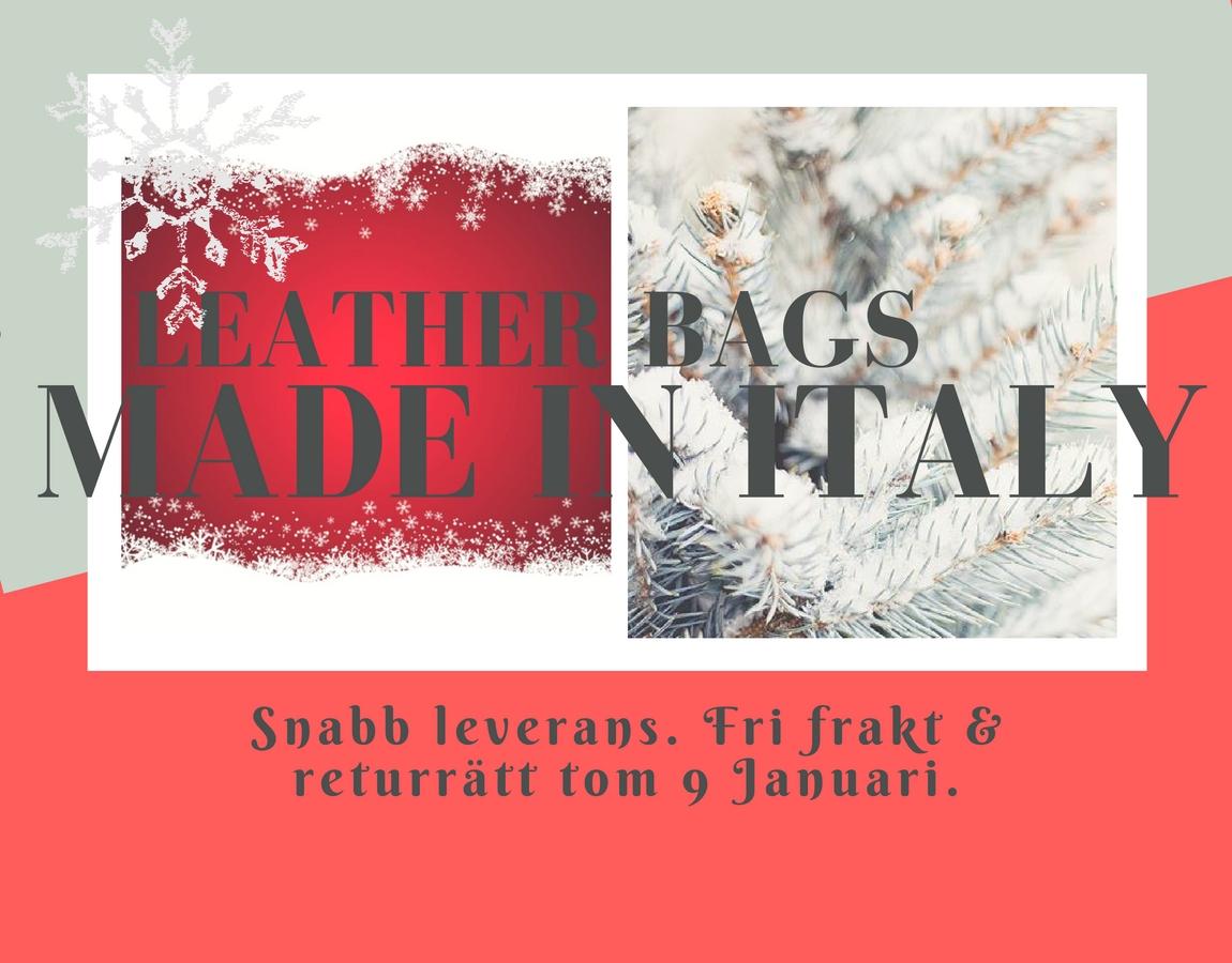CHRISTMAS LEATHER BAGS