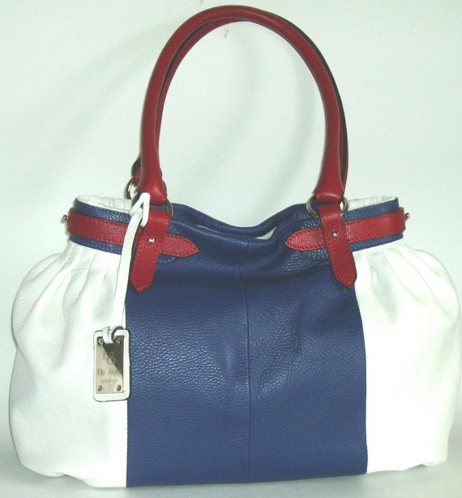 Blu Style Handväska i nappaskinn