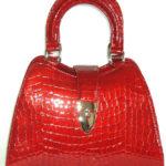 Blu Style Handväska Blank croco