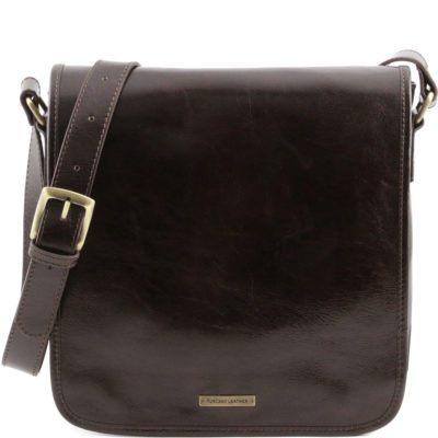 Tuscany Leather First Class TL Messenger bag iPad-väska 10″ TL141260 5e0deb413cf3e