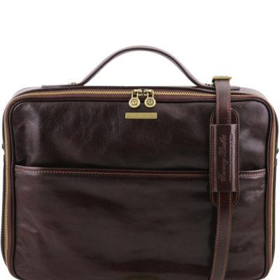Tuscany Leather First Class Portfölj Datorväska Italienskt läder Vicenza  TL141240 083a931d95ad3