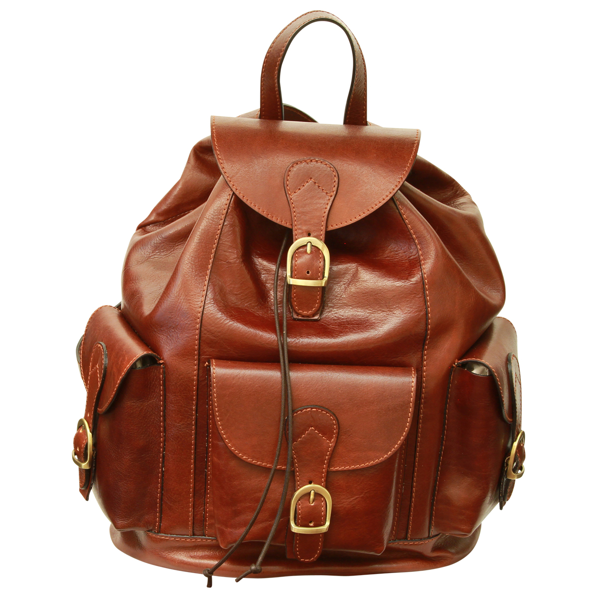 Old Angler Toscana Collection Ryggsäck Leather Backpack 1091 ... 5bea10d6d52b6