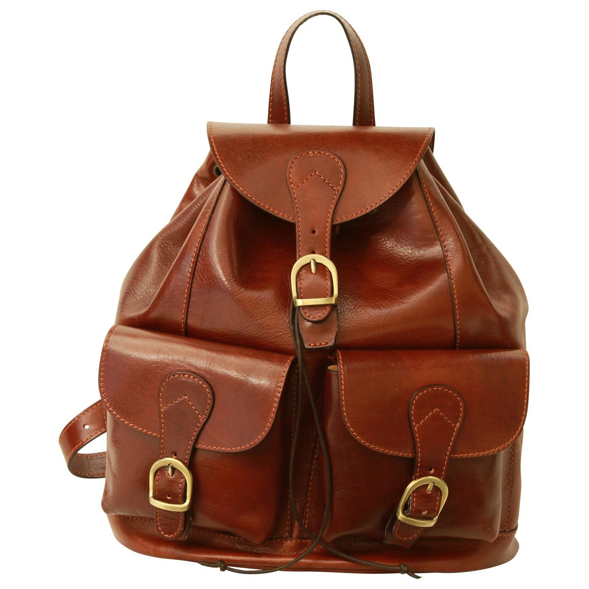 Old Angler Toscana Collection Ryggsäck Leather Backpack 1093 ... 2210b2ab34105
