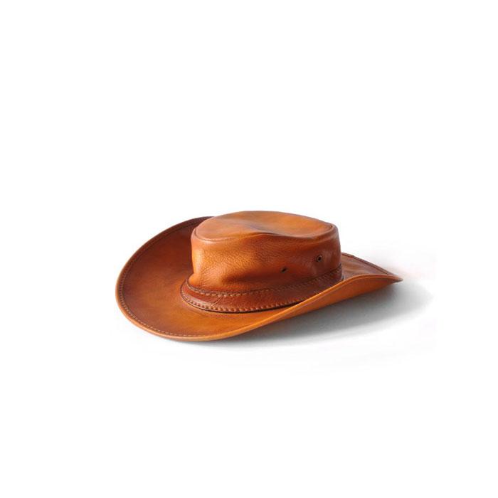 Hattar i läder