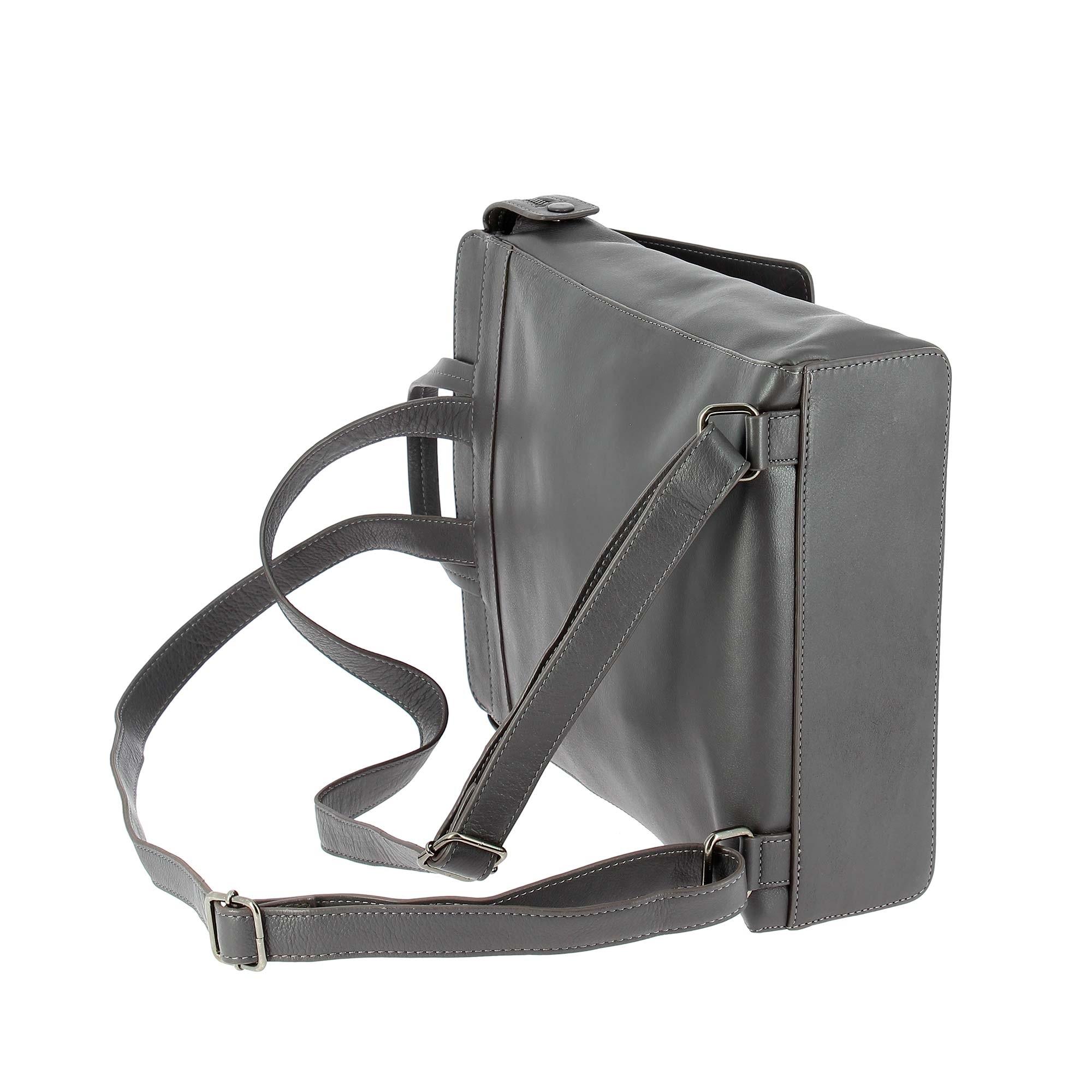 Dudubags Paris Collection Fashion leather backpack Marine 55612-1660 ... d90b11ac962d8