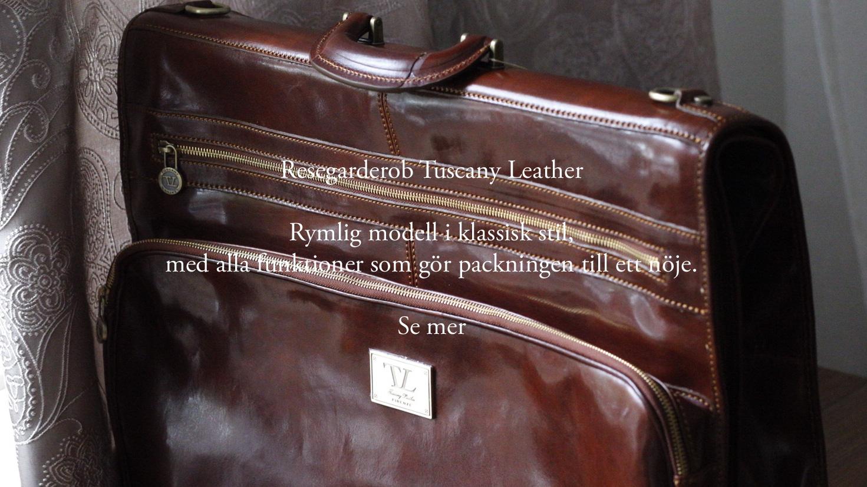 Resegarderob Tuscany Leather