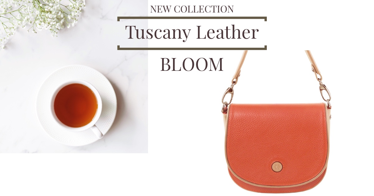 New Collection Tuscany Leather Bloom