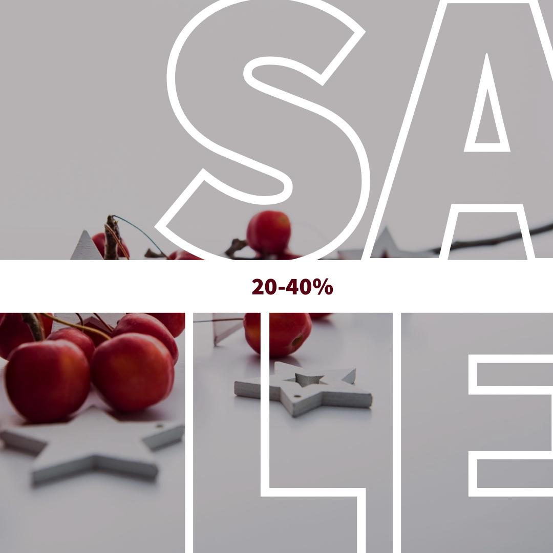 Sale 20-40% på utvalda väskor