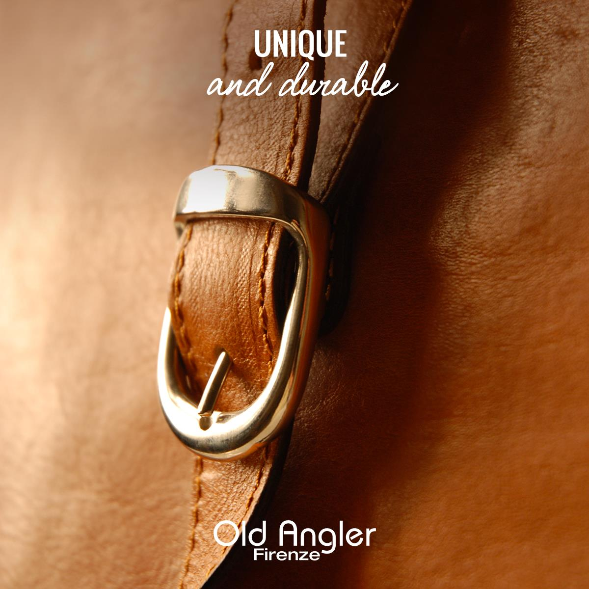 Old Angler Italian Leather Bags