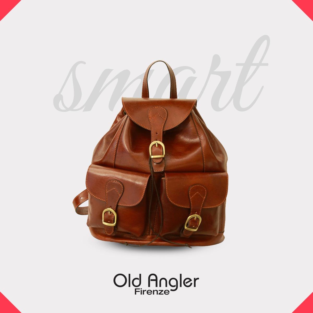 Old Angler Leather Backpacks