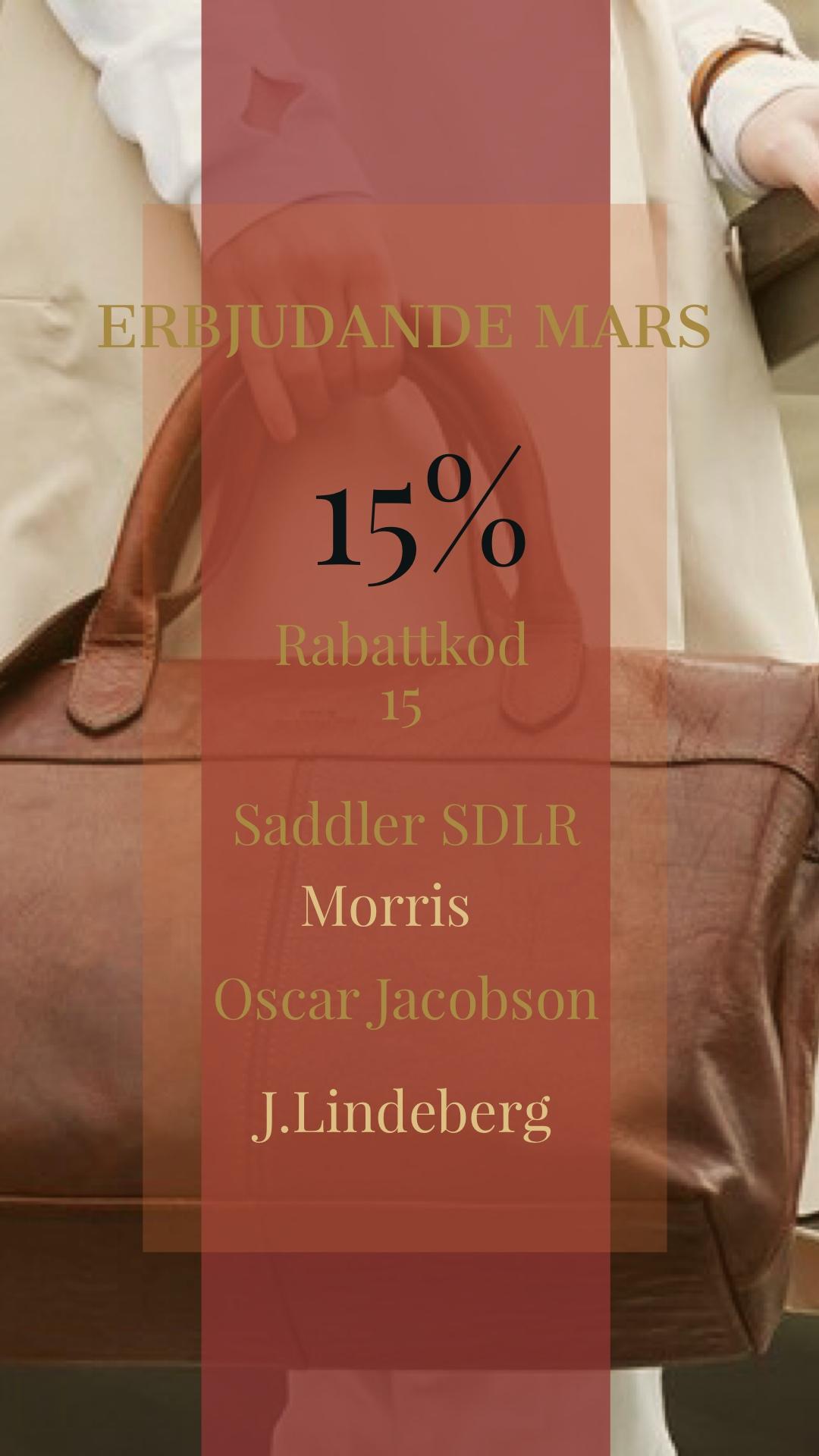 Erbjudande Väskor Mars