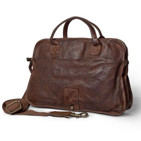 großer Rabatt fairer Preis große Vielfalt Modelle Campomaggi Men's Professional Work & Document Bag in Leather C001780NDX0001