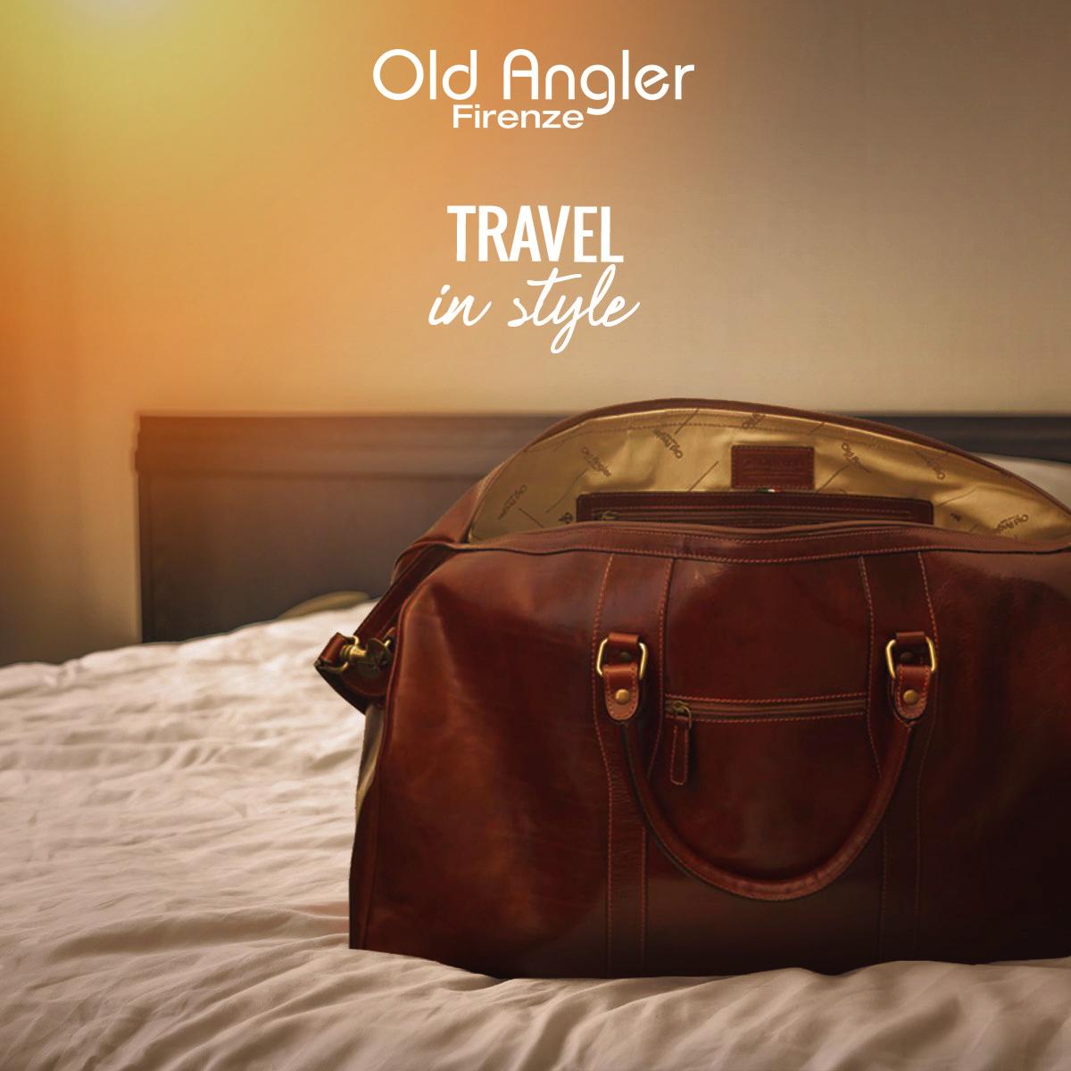 Läderväskor från Old Angler