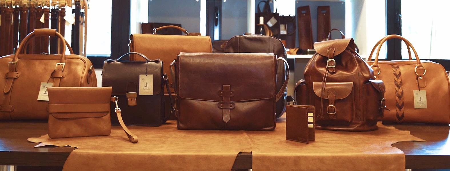 Väskor från Old Angler i Toscana